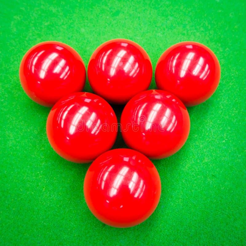 Snooker piłka zdjęcia royalty free