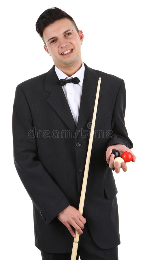 Download Snooker player stock photo. Image of playful, adult, ball - 23616606