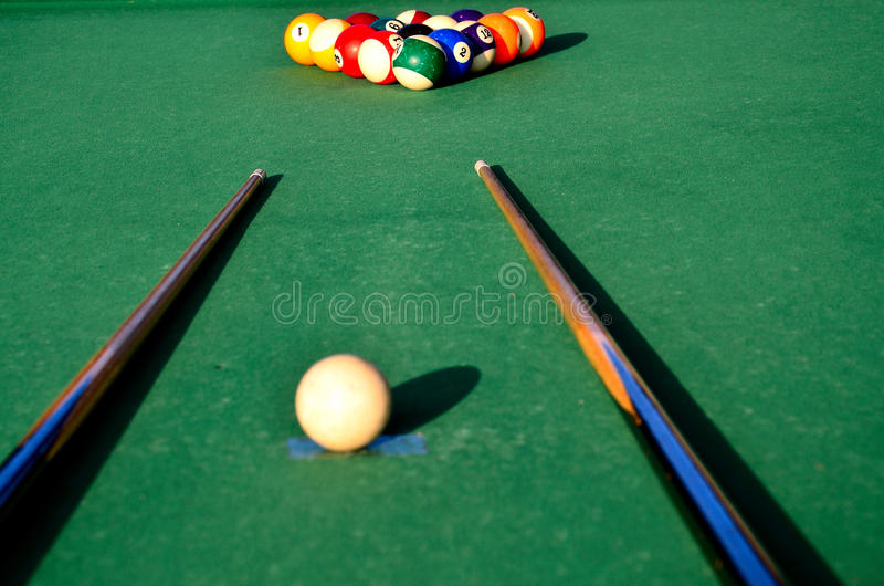 Download Snooker table stock image. Image of object, snooker, colorful - 25984061