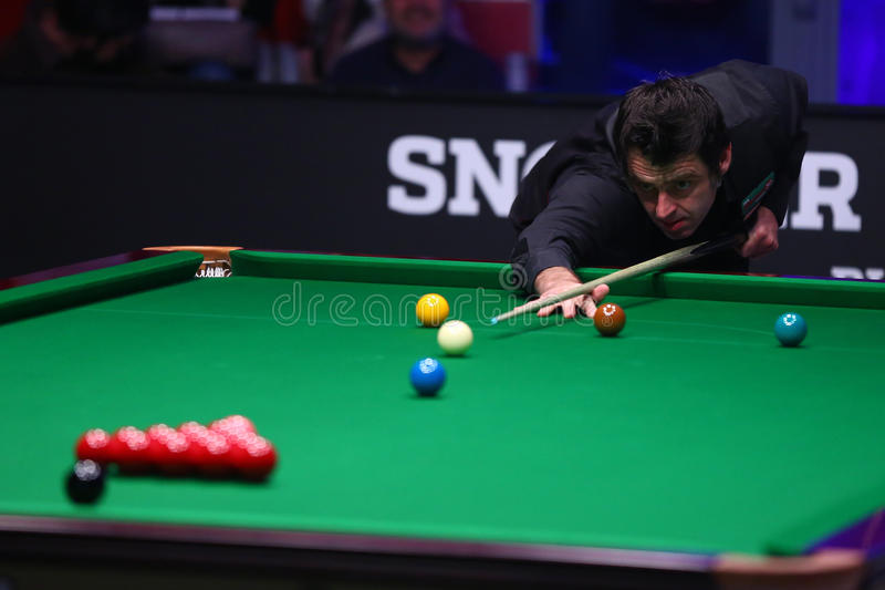 Snookerspeler, Ronnie O'Sullivan royalty-vrije stock foto