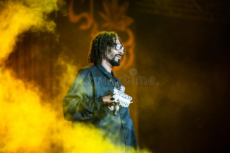Snoop Dogg lizenzfreie stockfotografie