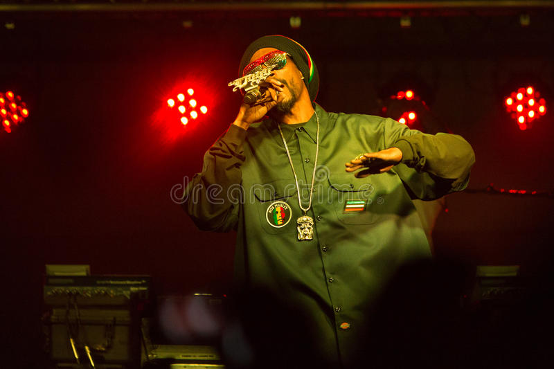 Snoop Dogg (Snoop Lion) Performs in Bend, Oregon 12-18-2012 stock images
