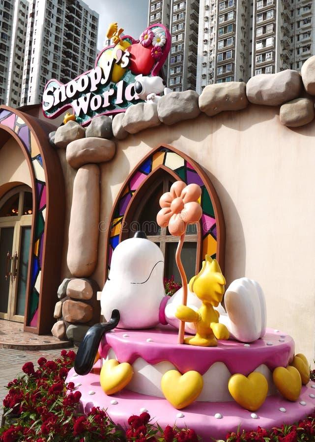Snoopy дом стоковые фото
