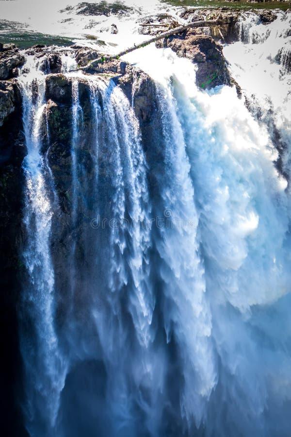 Snoqualmie faller den Washington State naturen i dagsljus royaltyfri bild
