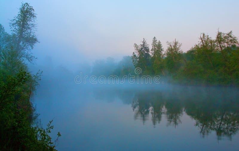 Snoqualmie-Fluss, Washington State lizenzfreie stockfotos