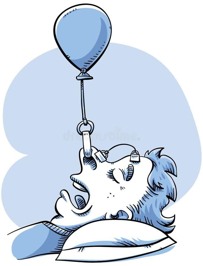 Snoring Control vector illustration