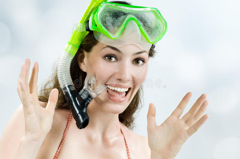 Download Snorkel stock photo. Image of enjoyment, recreational - 10883816