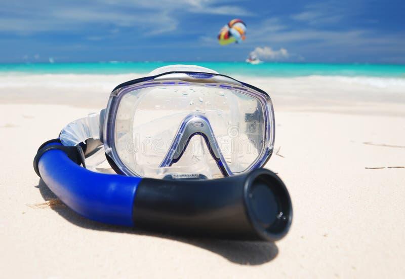 Snorkel apparatuur royalty-vrije stock afbeeldingen