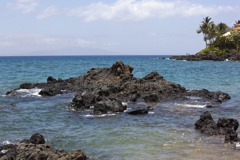 Download Snorkel e nadada imagem de stock. Imagem de lava, havaí - 26514199