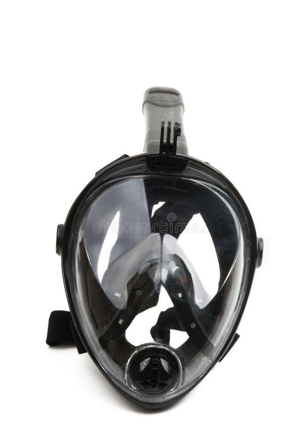 snorkel geïsoleerd masker royalty-vrije stock afbeelding
