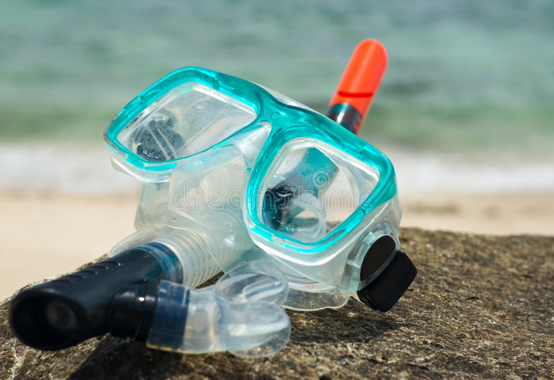 Snorkel And Mask Royalty Free Stock Photos