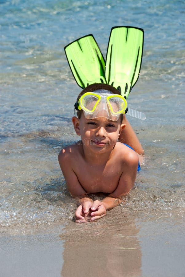 snorkeler στοκ φωτογραφίες
