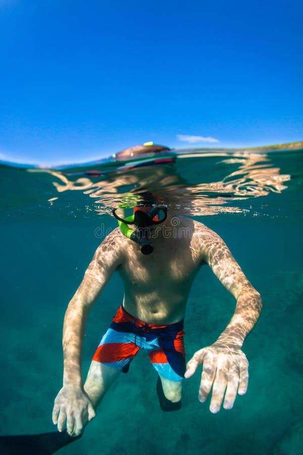 Download Snorkeling zdjęcie stock. Obraz złożonej z relaks, nikt - 28959136