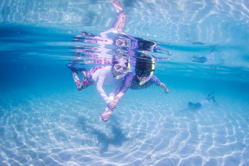 Snorkeling стоковое фото