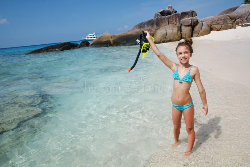 snorkeling royalty-vrije stock foto's