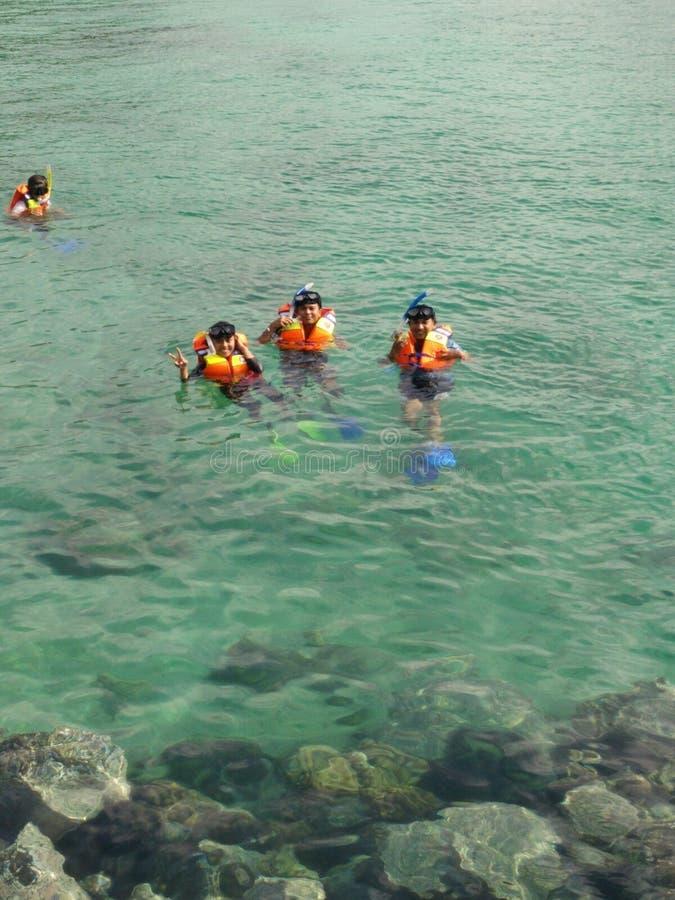 snorkeling immagine stock libera da diritti