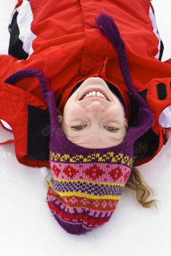 On the snow royalty free stock photo