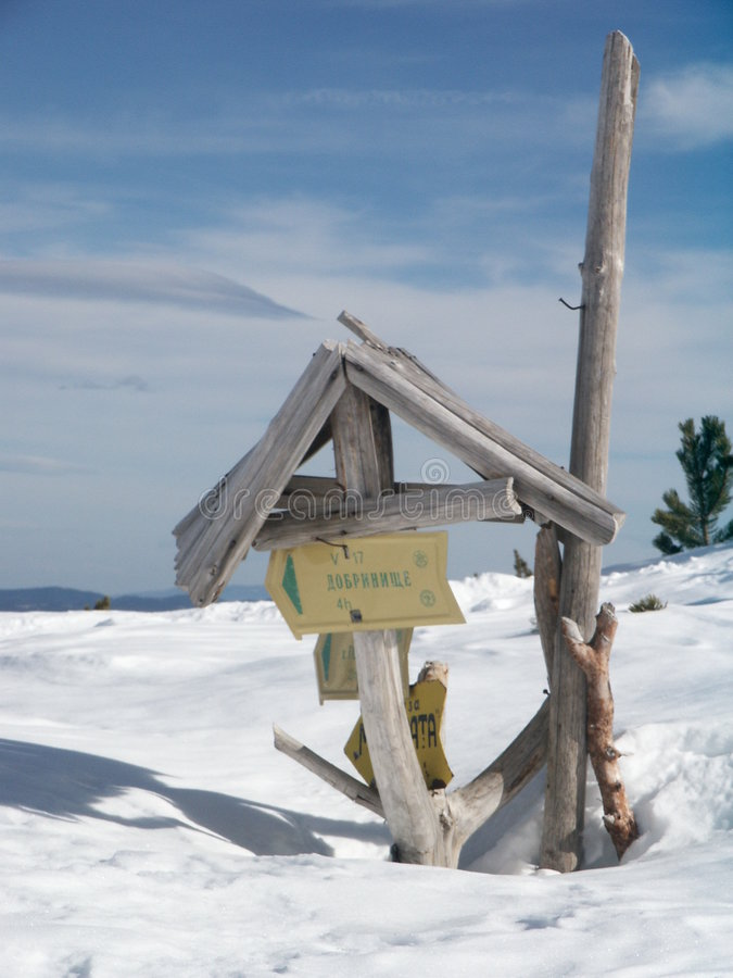Download Snow stock photo. Image of bulgaria, detail, sign, mountine - 48470