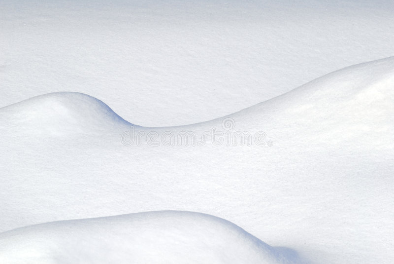 Snow Abstract. Abstract picture of some snow drift stock photo