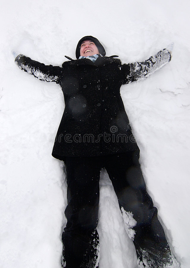 Download Snow Angel Royalty Free Stock Photography - Image: 7364657