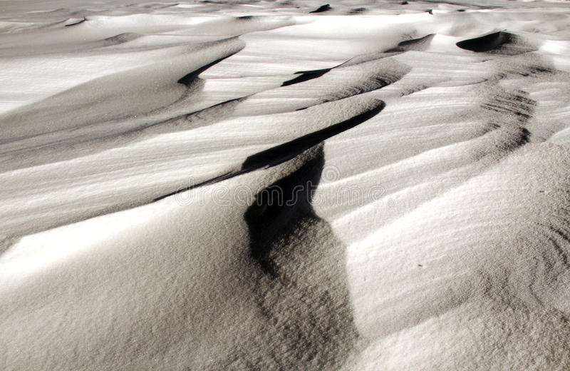 Snow artwork stock photo