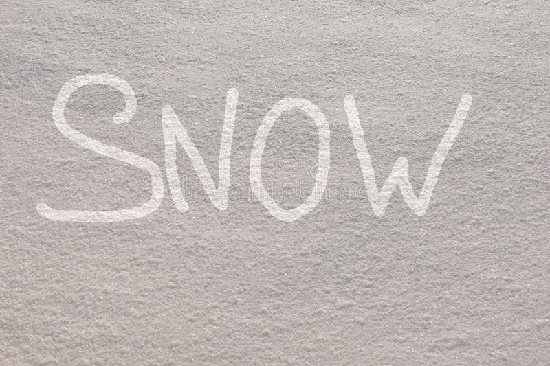 Download Snow background stock illustration. Image of word, snowy - 12787232