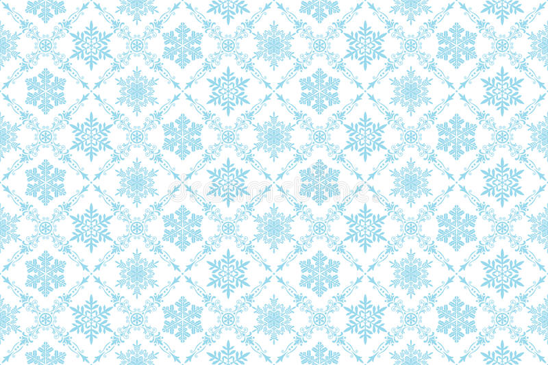 Download Snow background stock vector. Image of flower, decorative - 16185815