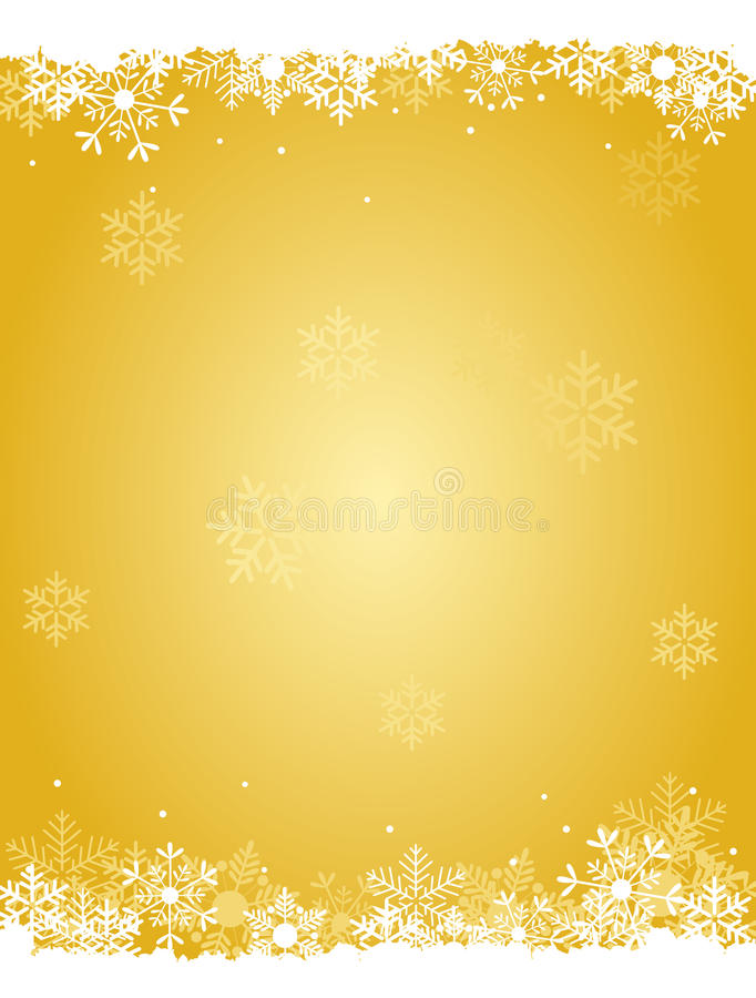 Download Snow background stock vector. Image of gold, artistic - 21187754