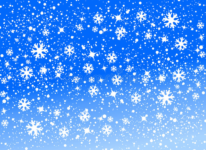 Snow background vector illustration