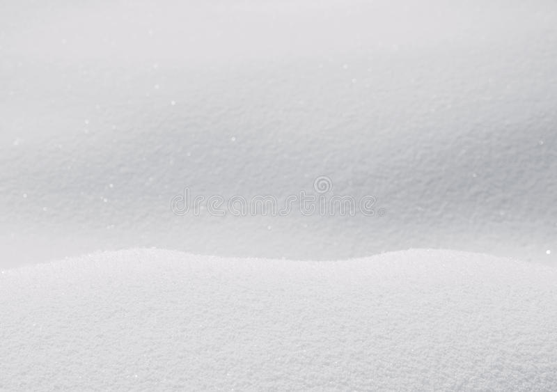 Snow background. Gentle background with shallow snow in shades of gray royalty free stock photo