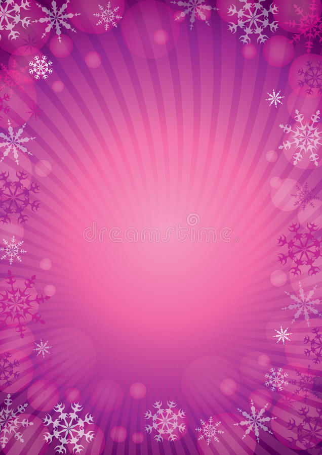 Snow_background_lila ilustração royalty free