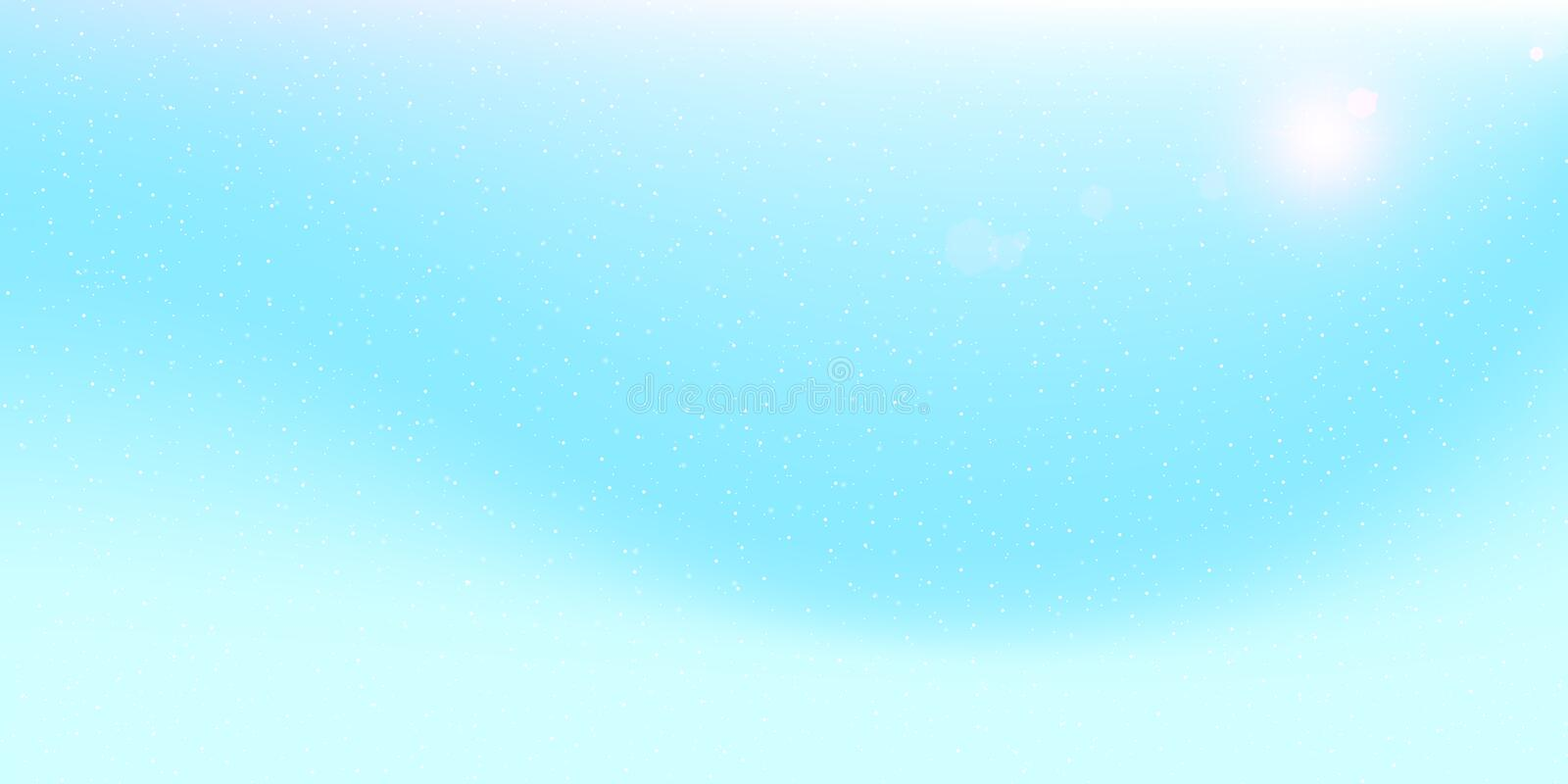 Snow Background. Winter sky. Vector. vector illustration