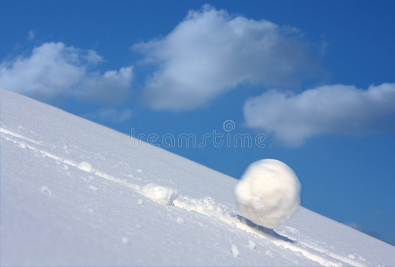 Snow ball royalty free stock photos