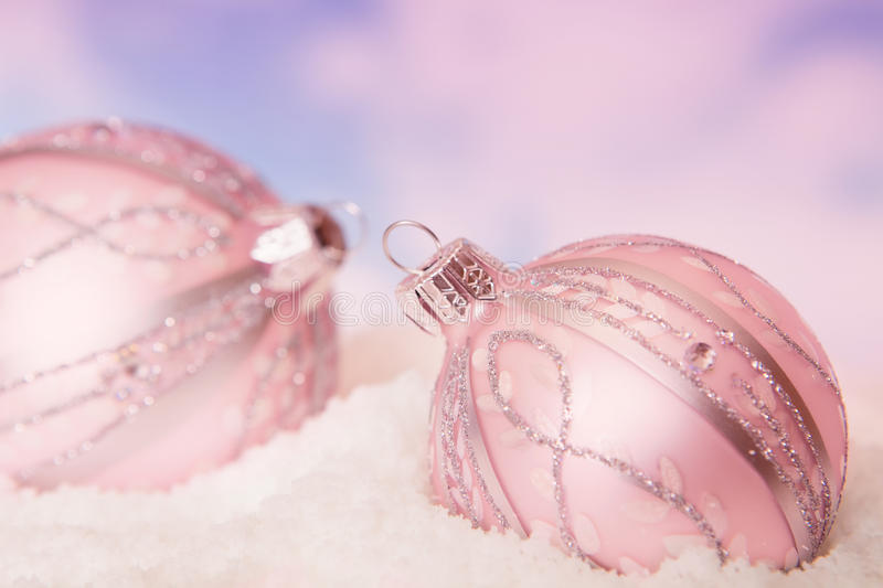 Download Snow baubles stock image. Image of object, ball, ornament - 22279155