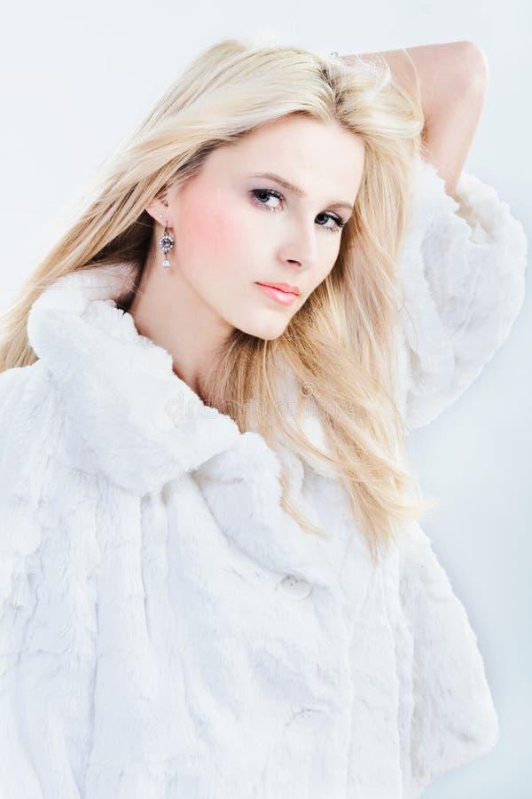 Snow beauty royalty free stock photography