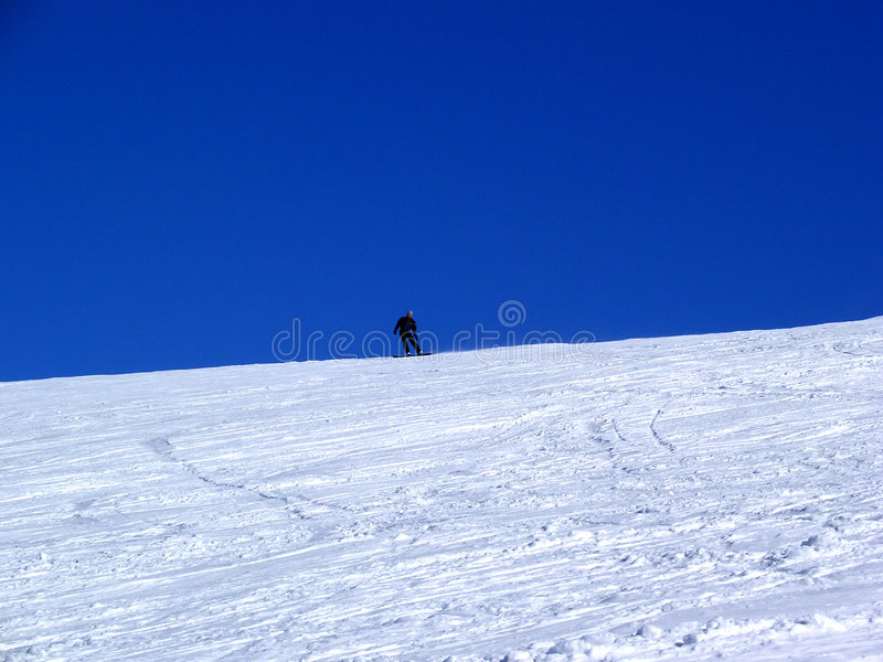 Snow-Border Stock Image