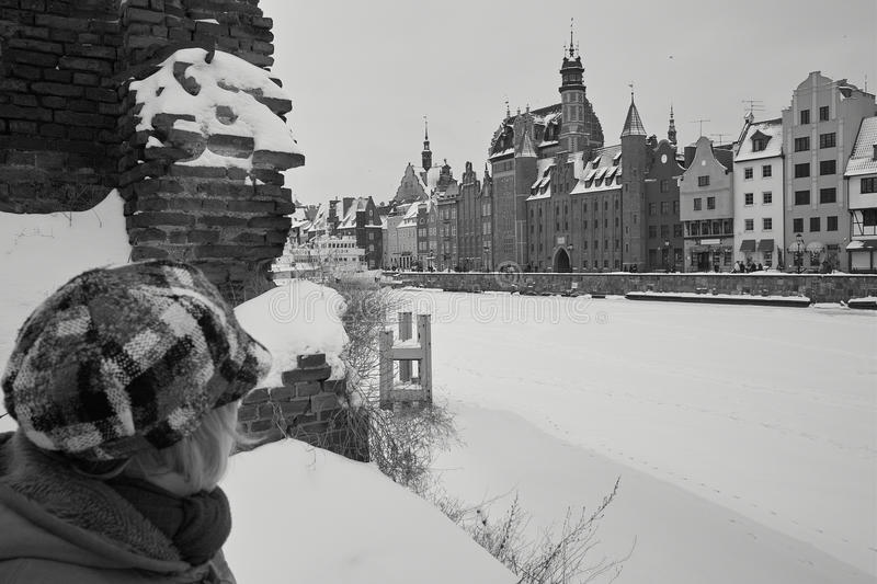 Download Snow on buildings stock image. Image of city, buildings - 17585775