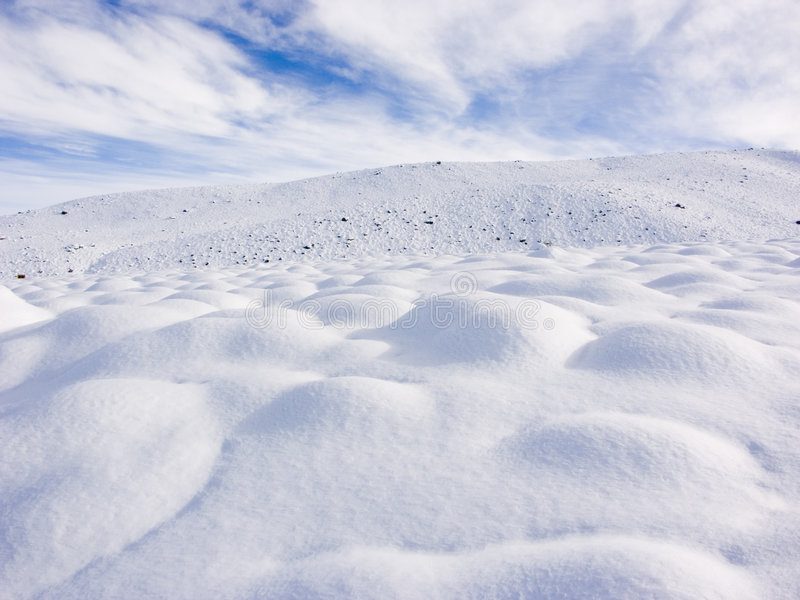 Download Snow Bumps stock image. Image of february, cold, poster - 462961
