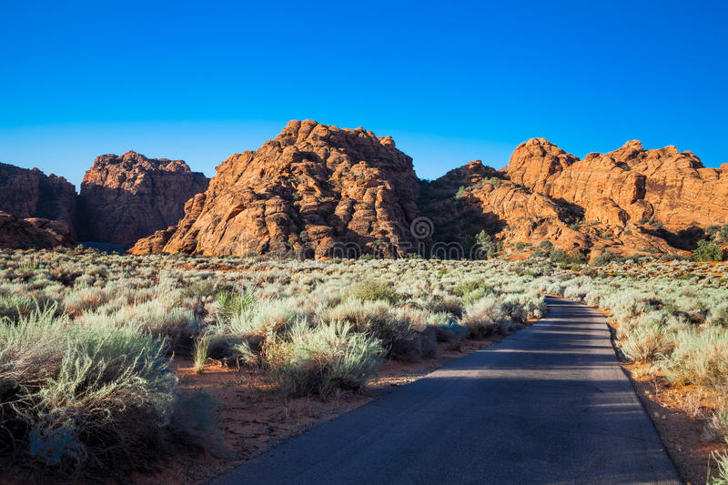 Snow Canyon State Park -Ivins -Utah. stock photos