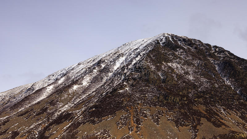 Download Snow Capped Mountain stock image. Image of blue, mountain - 30493535