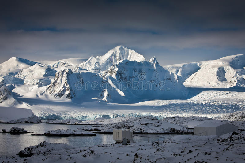 Download Snow-capped mountains stock photo. Image of cold, area - 16708770
