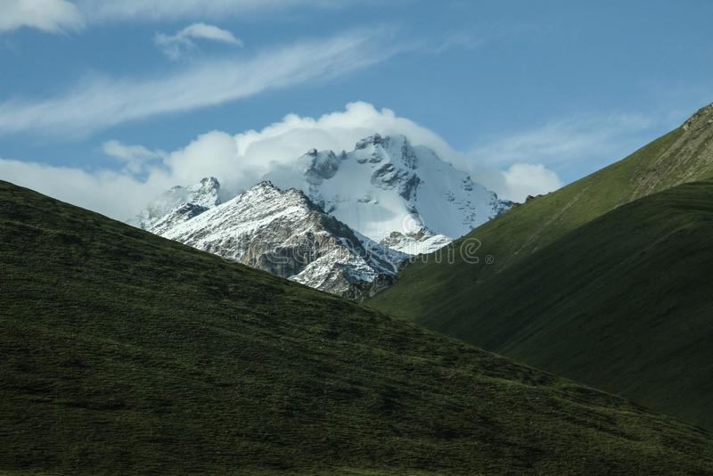 Snow Capped Peaks Over Valley Free Public Domain Cc0 Image