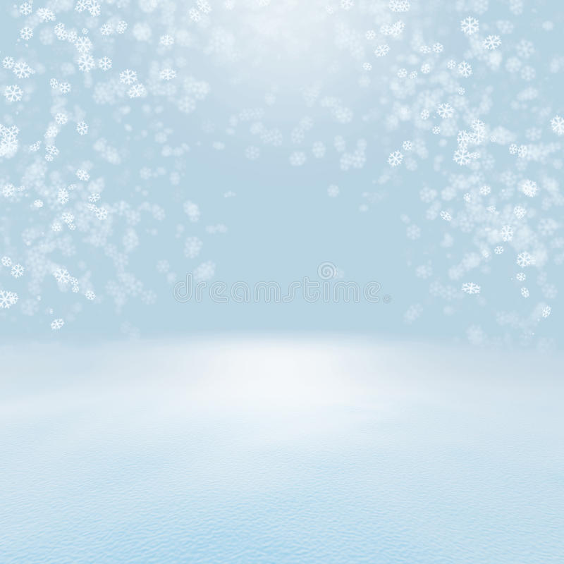 Snow Christmas background royalty free stock images