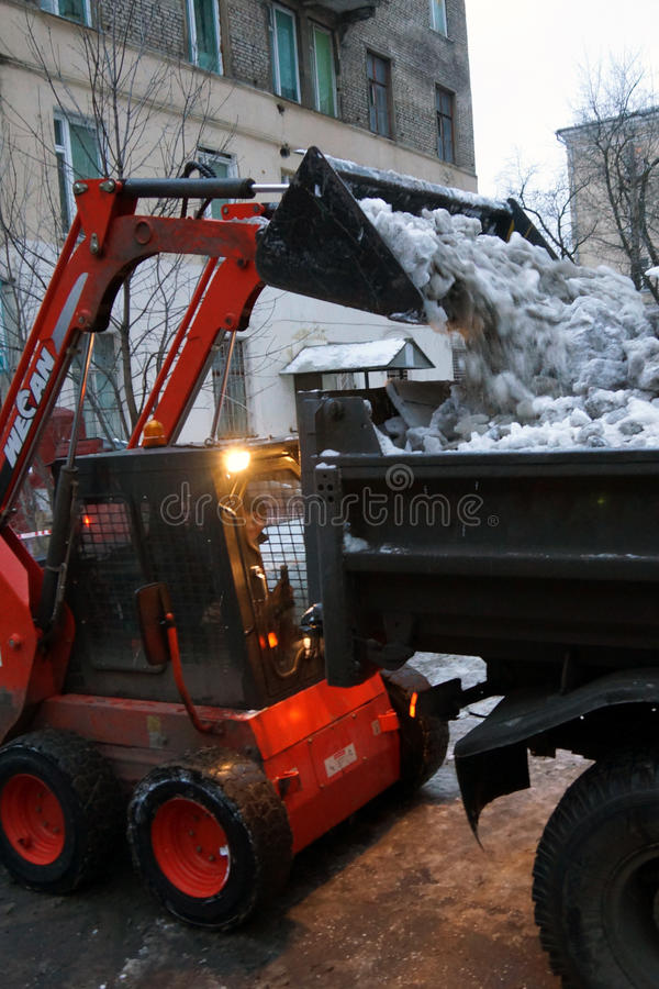 Download Snow Cleaning Editorial Photography - Image: 28149332