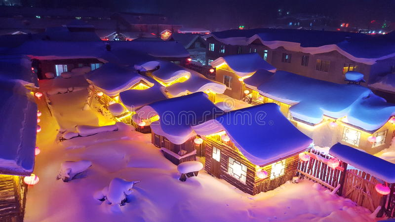 snow country stock image