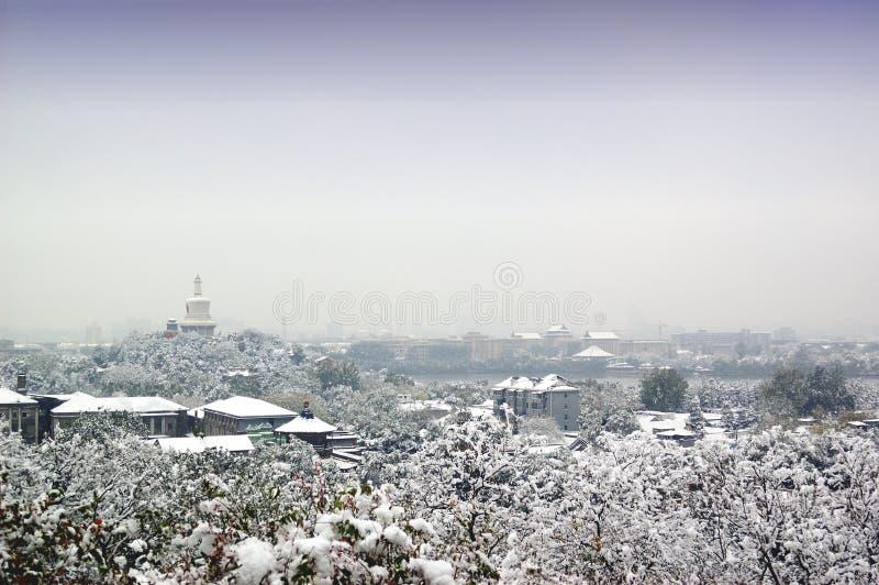 Snow-covered images libres de droits