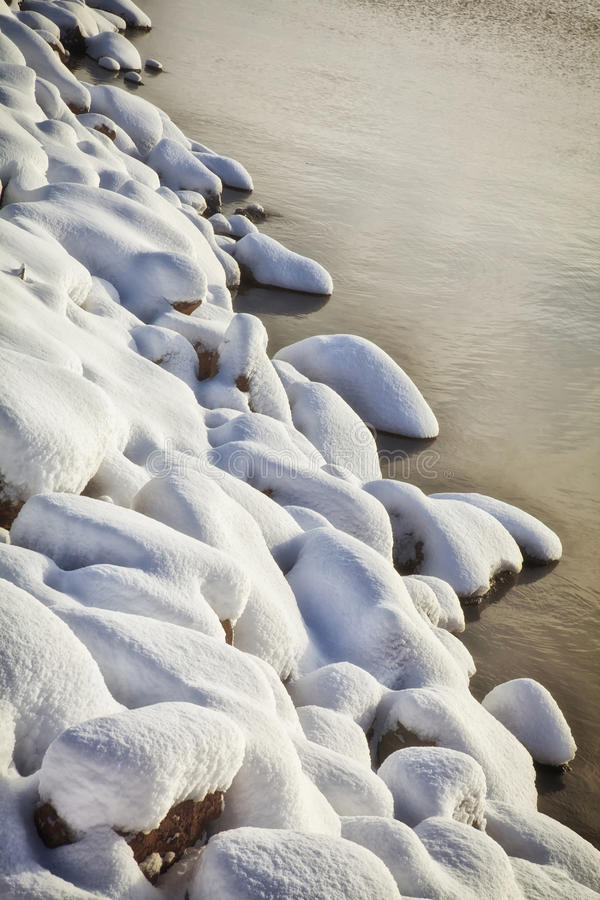 Download Snow Covered Rocks stock image. Image of snowcovered - 26719463