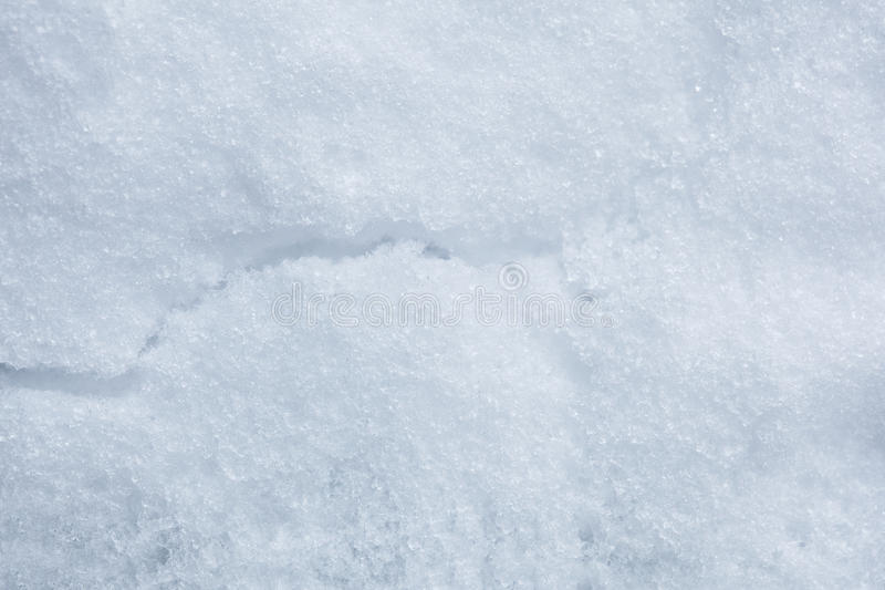 Download Snow Crack stock photo. Image of december, cold, smooth - 12163798