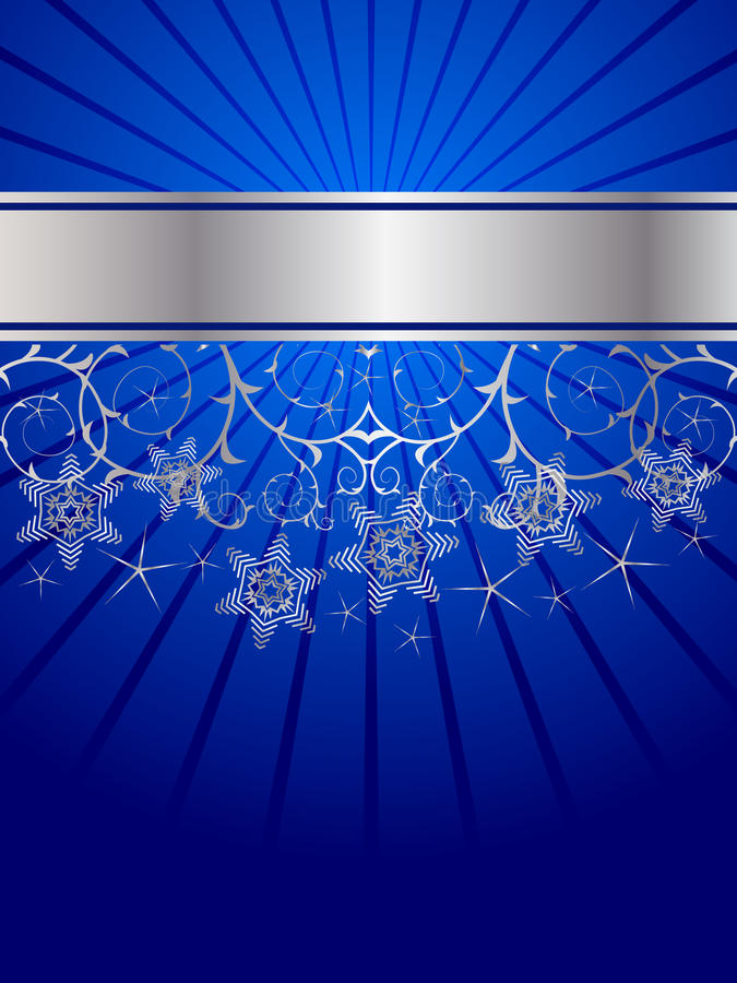 Free Snow Crystals Pattern Royalty Free Stock Photos - 16547888