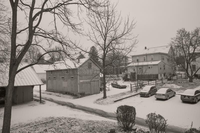 Snow day royalty free stock photos